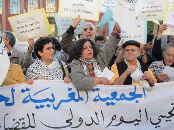 الجمعية المغربية لحقوق الإنسان تحيي اليوم العالمي للطالب